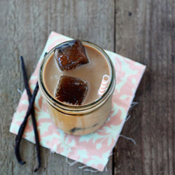 Maple Vanilla Iced Coffee