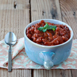 Crock Pot Coconut Curry Baked Beans