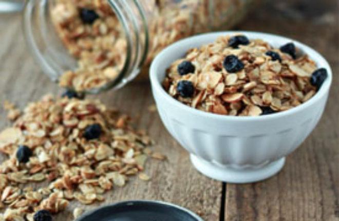 How to make granola square