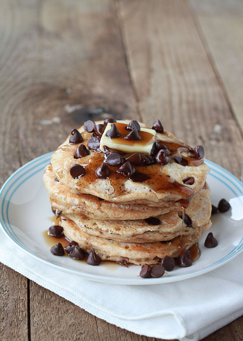 Chocolate Chip Pancakes | Kitchen Treaty