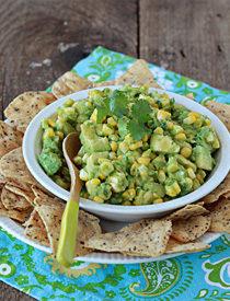 Sweet Corn Guacamole   Kitchen Treaty