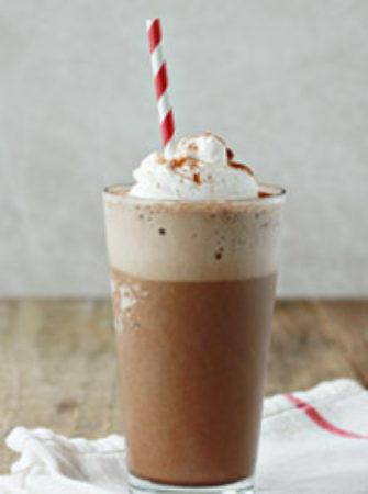 Frozen Mexican Hot Chocolate Mocha | Kitchen Treaty