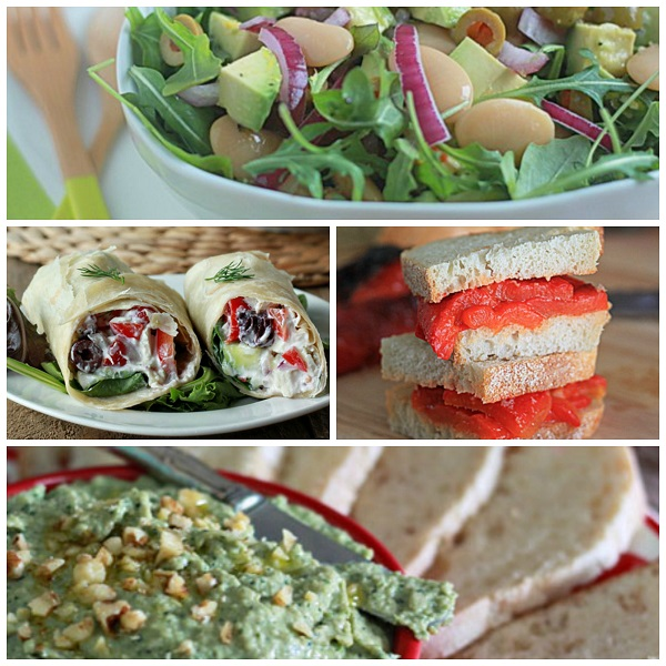 47 Vegetarian No-Cook Dinners for Summertime (with 8 Bonus No-Bake Desserts!)