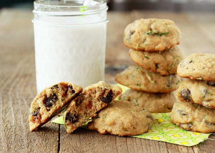 These super soft chocolate chip cookies feature a surprising - and surprisingly great - ingredient. Zucchini!