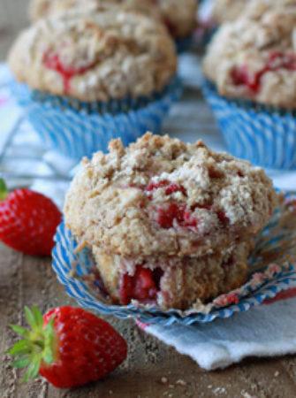 Strawberry Streusel Muffins   Kitchen Treaty