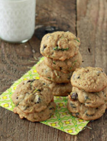 Zucchini Chocolate Chip Cookies | Kitchen Treaty