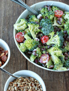 Broccoli Raisin Salad Recipe Sq