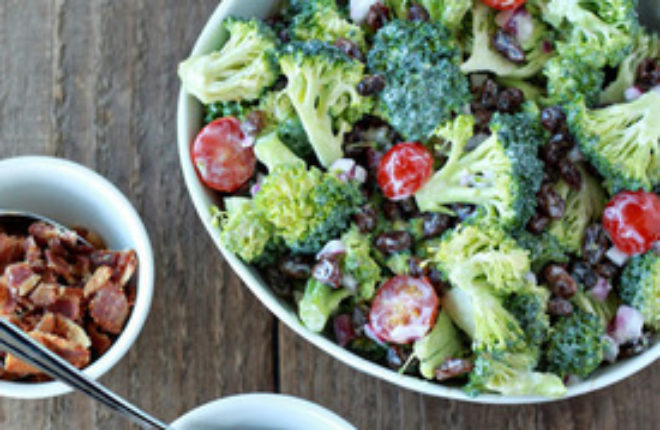 Broccoli Raisin Salad Recipe Sq