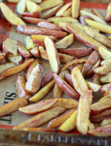 Easy Oven Fries | Kitchen Treaty