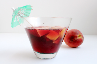 Manischewitz Sangria by What Jew Wanna Eat // 50 Sensational Summer Sangria Recipes | Kitchen Treaty