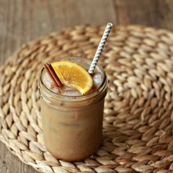 Orange Spice Iced Coffee
