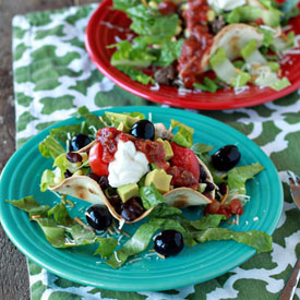 Quick & Easy Dinner: Taco Salad (Any Way You Want It!)