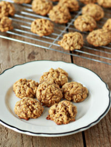 Spiced Pumpkin Oatmeal Cookies | Kitchen Treaty
