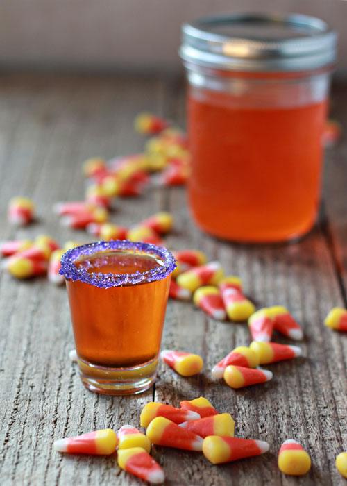 Candy Corn Infused Vodka | Kitchen Treaty