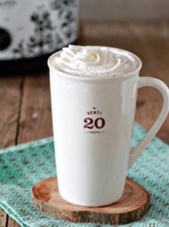 Crock Pot Vanilla Latte | Kitchen Treaty