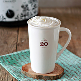 Crock Pot Vanilla Latte