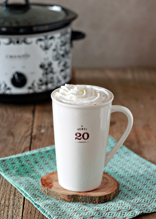 Crock Pot Vanilla Latte | Kitchen Treat