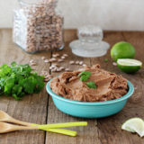 Easy Crock Pot Refried Beans (without Lard!) | Kitchen Treaty