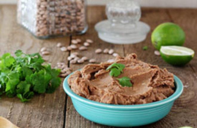 Easy Crock Pot Refried Beans (without Lard!)   Kitchen Treaty