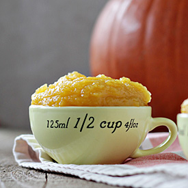 How to Make Pumpkin Puree + Potluck at Oh My Veggies!