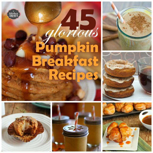 45 Glorious Pumpkin Breakfast Recipes | Kitchen Treaty