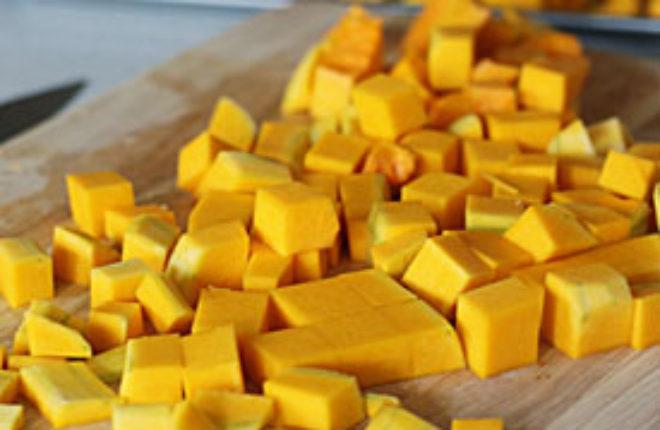 how to cut summer squash