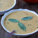 pumpkin ale beer cheese soup sq