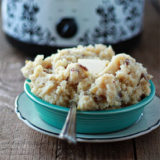 Crock Pot Garlic Mashed Potatoes Sq