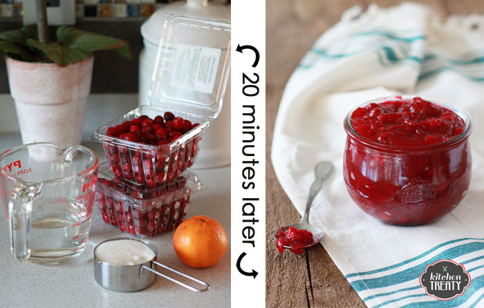 How to Make Cranberry Sauce | Kitchen Treaty