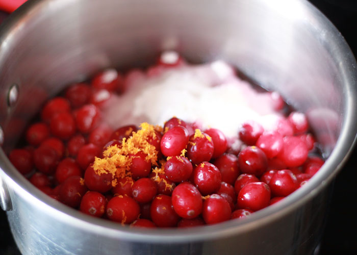 How to Make Cranberry Sauce - Got 20 minutes? Make homemade cranberry sauce that beats the socks off of any you'll find in a can. It freezes beautifully, too. Whip some up now and freeze it for the big day!
