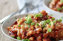 Vegetarian Chili Mac