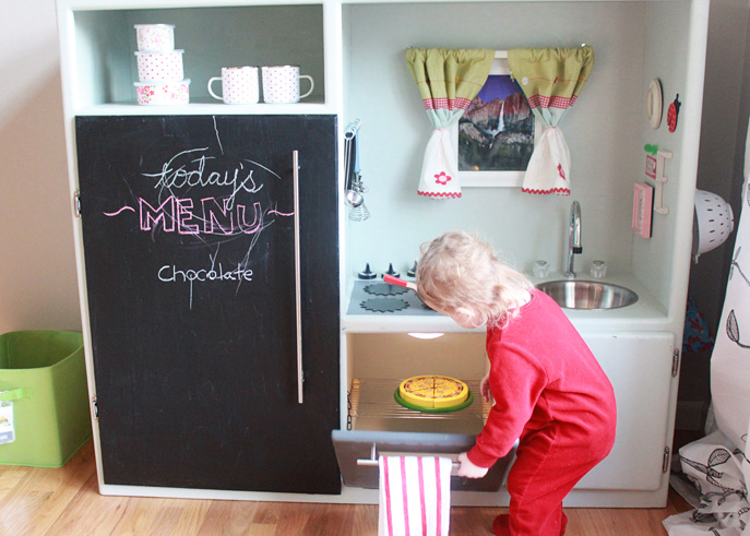 Diy Play Kitchen From Entertainment Center Treaty