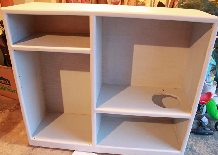 Diy Play Kitchen Made Out Of An Old Entertainment Center