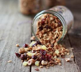 Hazelnut, Cherry, and Pistachio Granola | Kitchen Treaty