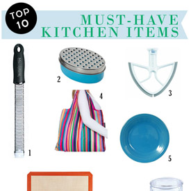 My 10 Must-Have Kitchen Items (and Hey! Most of Them Would Fit Into a Christmas Stocking!)