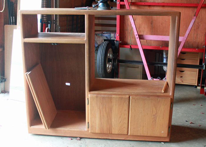DIY Play Kitchen from Entertainment Center | Kitchen Treaty