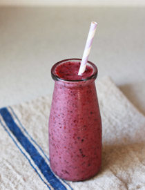 Power Berry Smoothie | Kitchen Treaty