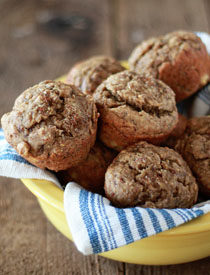 Super Moist Vegan Banana Bread Muffins Kitchen Treaty Recipes
