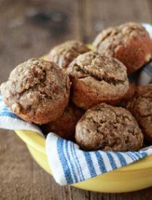Super Moist Vegan Banana Bread Muffins Square