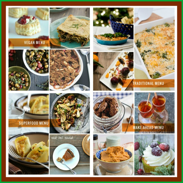 4 Vegetarian Christmas Menu Ideas - Kitchen Treaty