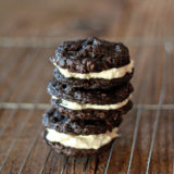 Chocolate Oatmeal Cream Pies with Vanilla Bean Buttercream | kitchentreaty.com