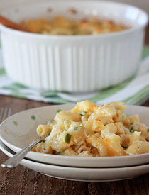 Jalapeno Mac and Cheese from kitchentreaty.com