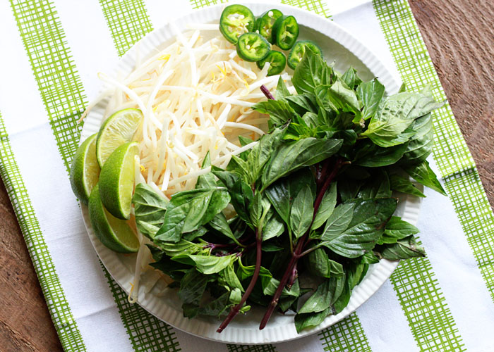 Vegetarian Pho from Scratch (with Optional Beef for the Meat-Eaters) from kitchentreaty.com