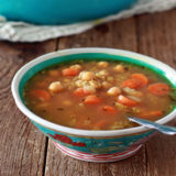 Chickpea and Rice Soup 2 Sq