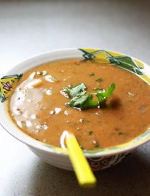 Thai Green Curry Lentil Soup | kitchentreaty.com