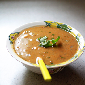 Thai Green Curry Lentil Soup