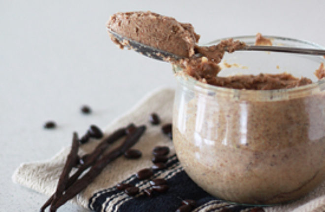 Vanilla Espresso Almond Butter | Kitchen Treaty