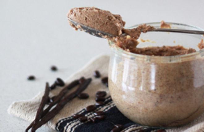 Vanilla Espresso Almond Butter | Kitchen Treaty