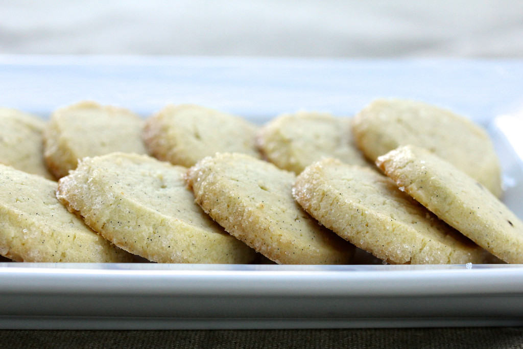 Vanilla Bean Sable Cookies from Karen's Kitchen Stories || 80 Vanilla ...