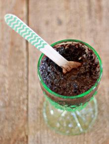 Rich and Creamy Chocolate-Coconut Chia Pudding | kitchentreaty.com
